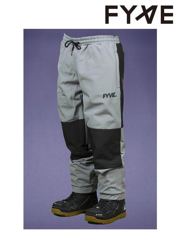 19/20モデル Knees Pants #Grey with Black