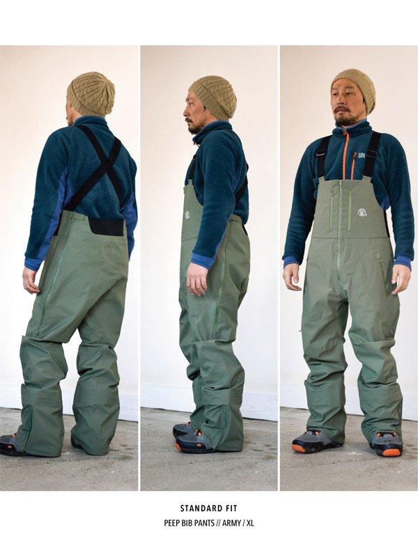19/20モデル PEEP BIB PANTS #Army