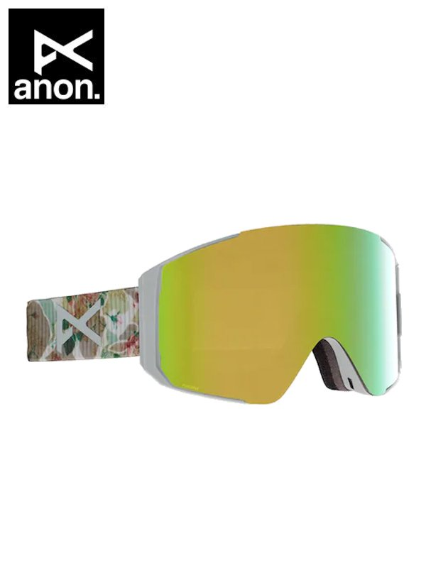 20/21モデル MEN'S SYNC GOGGLE + BONUS LENS - ASIAN FIT #CAMO/P VRBL GREEN [215081]