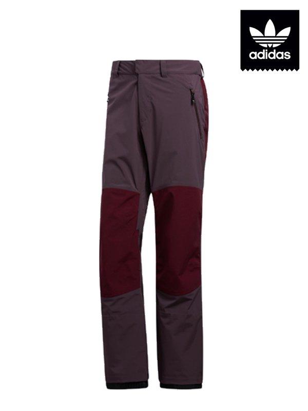 20/21モデル 20K FIXED PANTS #M RED/MRN/S GREEN [FJ7505]