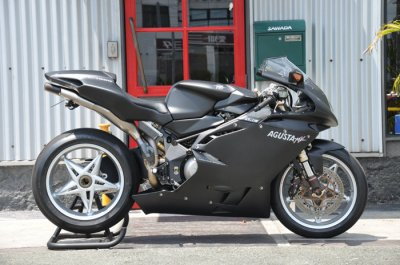 MV AGUSTA F4 1000S World Collection Matt Black