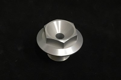 corsa type ステムトップボルト M20×P1.5 (Silver)