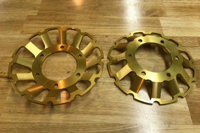 F1 618ルッキネリ FインナーローターSET(ゴールド)