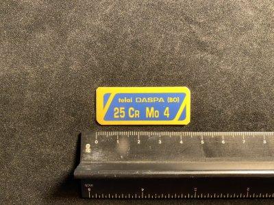 DASPA フレームステッカー 4.5cm