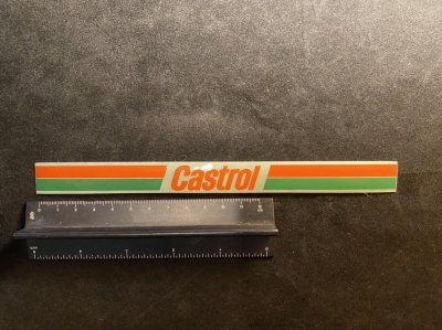 Castrol 帯ステッカー