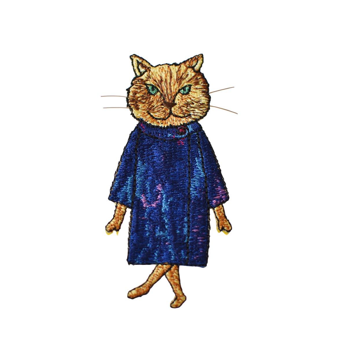 猫ブローチ_Monet
