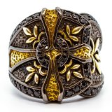 Gold Cross Baroque #01
