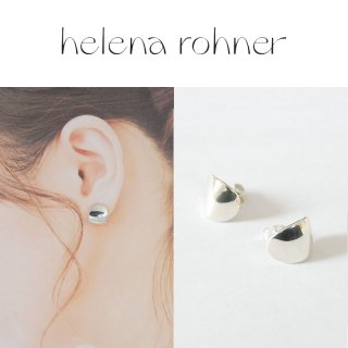 <img class='new_mark_img1' src='https://img.shop-pro.jp/img/new/icons20.gif' style='border:none;display:inline;margin:0px;padding:0px;width:auto;' />【40%OFF】Helena Rohner(ヘレナローナー) Mirror curve ear ミラーカーブイヤー ピアス シルバー