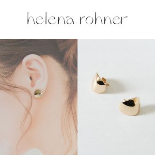 <img class='new_mark_img1' src='https://img.shop-pro.jp/img/new/icons20.gif' style='border:none;display:inline;margin:0px;padding:0px;width:auto;' />【40%OFF】Helena Rohner(ヘレナローナー) Mirror curve ear ミラーカーブイヤー ピアス ゴールド