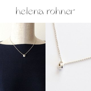 <img class='new_mark_img1' src='https://img.shop-pro.jp/img/new/icons20.gif' style='border:none;display:inline;margin:0px;padding:0px;width:auto;' />【30%OFF】Helena Rohner(ヘレナローナー) Knot Pendant ノット ペンダント ショート ネックレス シルバー
