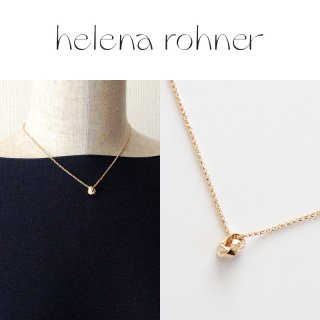 <img class='new_mark_img1' src='https://img.shop-pro.jp/img/new/icons20.gif' style='border:none;display:inline;margin:0px;padding:0px;width:auto;' />【30%OFF】Helena Rohner(ヘレナローナー) Knot Pendant ノット ペンダント ショート ネックレス ゴールド