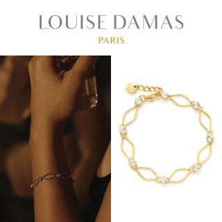 <img class='new_mark_img1' src='https://img.shop-pro.jp/img/new/icons29.gif' style='border:none;display:inline;margin:0px;padding:0px;width:auto;' />【10%OFF】LOUISE DAMAS(ルイーズダマス) ゴールド Gloria ブレスレット