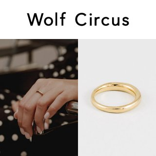 <img class='new_mark_img1' src='https://img.shop-pro.jp/img/new/icons47.gif' style='border:none;display:inline;margin:0px;padding:0px;width:auto;' />Wolf Circus(ウルフサーカス) ゴールド EMEILE リング