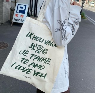 Lee Izumida .cvs トートバッグ I LOVE YOU