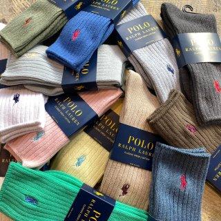 POLO Ralph Lauren classic crew cotton socks