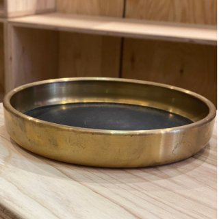 hobo Brass Tray S with Cow Leather