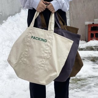 PACKING CANVAS TOTE BAG