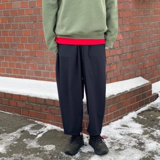 White Mountaineering STRETCHED TWILLED SAROUEL PANTS