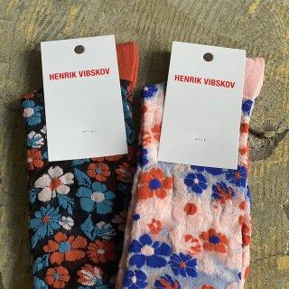 HENRIK VIBSKOV Flowerssocks Nylon Knee