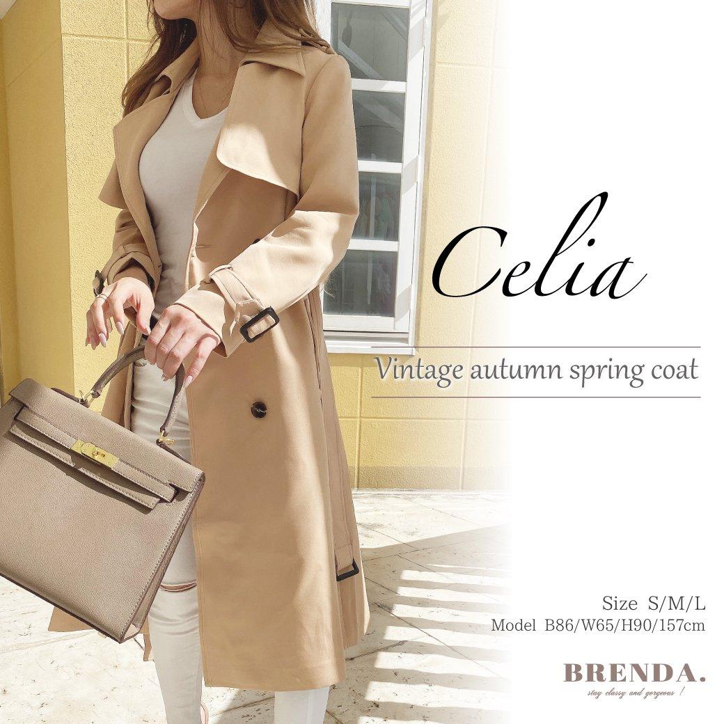 Celia  Vintage autumn spring coat