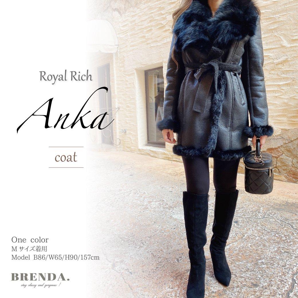 Royal Rich Anka coat