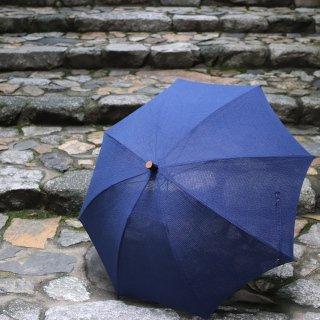 日傘(藍)ショートパラソル