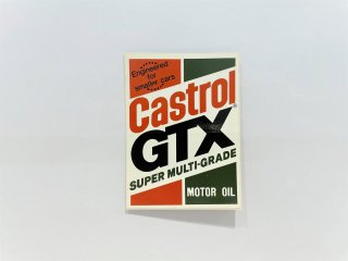 <img class='new_mark_img1' src='https://img.shop-pro.jp/img/new/icons24.gif' style='border:none;display:inline;margin:0px;padding:0px;width:auto;' />Castrol GTX SUPER MULTI-GRADE ステッカー