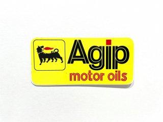 Agip motor oils ステッカー