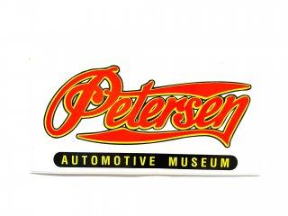 ピーターセン自動車博物館ステッカー