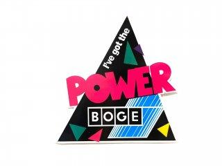BOGE ステッカー