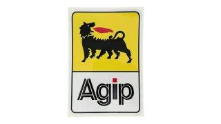 Agip ステッカー