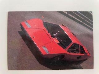 ランボルギーニ カウンタック LP400 カード