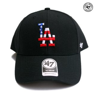 <img class='new_mark_img1' src='https://img.shop-pro.jp/img/new/icons59.gif' style='border:none;display:inline;margin:0px;padding:0px;width:auto;' />47 BRAND MVP CAP LOS ANGELES DODGERS【BLACK】