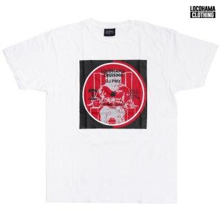 【MIX CDプレゼント】【メール便対応】LOCOHAMA CLOTHING PRINT Tシャツ【WHITE】