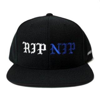 RIP NIP SNAPBACK CAP【BLACK】