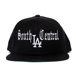 SOUTH CENTRAL LA SNAPBACK CAP【BLACK】