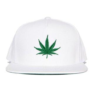LEAF SNAPBACK CAP【WHITE】