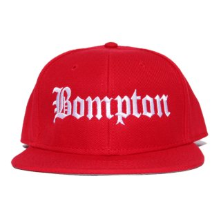 BOMPTON SNAPBACK CAP【RED】