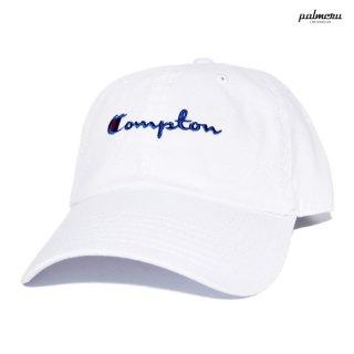 【メール便対応】PALMCRU COMPTON STRAP BACK CAP【WHITE】
