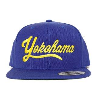 YOKOHAMA SNAPBACK CAP【BLUE】