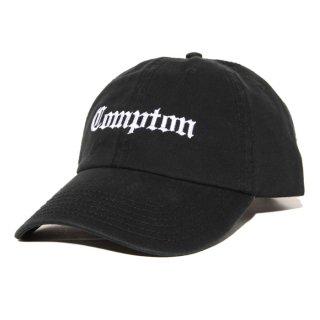 【メール便対応】COMPTON STRAP BACK CAP【BLACK】