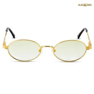 THE GOLD GODS THE ARES SUNGLASSES【GOLD】