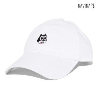 【メール便対応】KAVI KAP$ STRAP BACK CAP【WHITE】