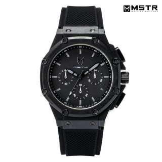 <img class='new_mark_img1' src='https://img.shop-pro.jp/img/new/icons59.gif' style='border:none;display:inline;margin:0px;padding:0px;width:auto;' />MSTR WATCHES AMBASSADOR X【BLACK/BLACK/RUBBER BAND】