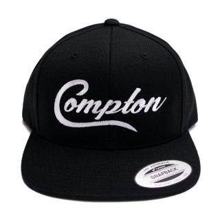 COMPTON SNAPBACK CAP【BLACK】【CITY CAP】