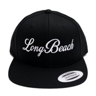 LONG BEACH SNAPBACK CAP【BLACK】【CITY CAP】