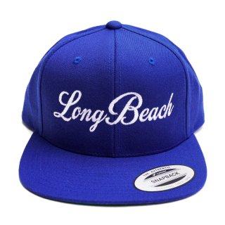 LONG BEACH SNAPBACK CAP【ROYAL BLUE】【CITY CAP】