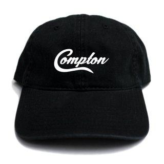 【メール便対応】COMPTON STRAPBACK CAP【BLACK】【CITY CAP】
