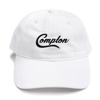 【メール便対応】COMPTON STRAPBACK CAP【WHITE】【CITY CAP】