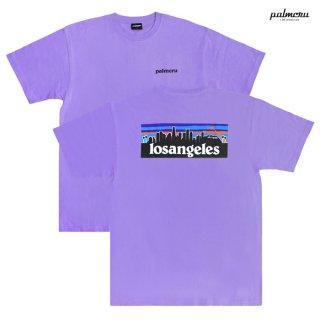 【メール便対応】PALM CRU LOS ANGELES Tシャツ【LAVENDER】